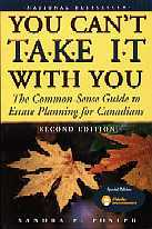 You Can't Take it With You, by Sandra Foster. Publisher: John Wiley & Sons Canada Ltd., copyright 1996.